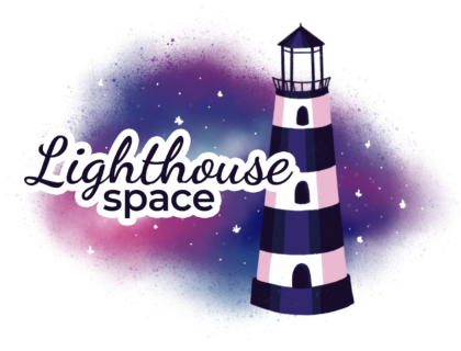 Lighthouse Space Logo klein